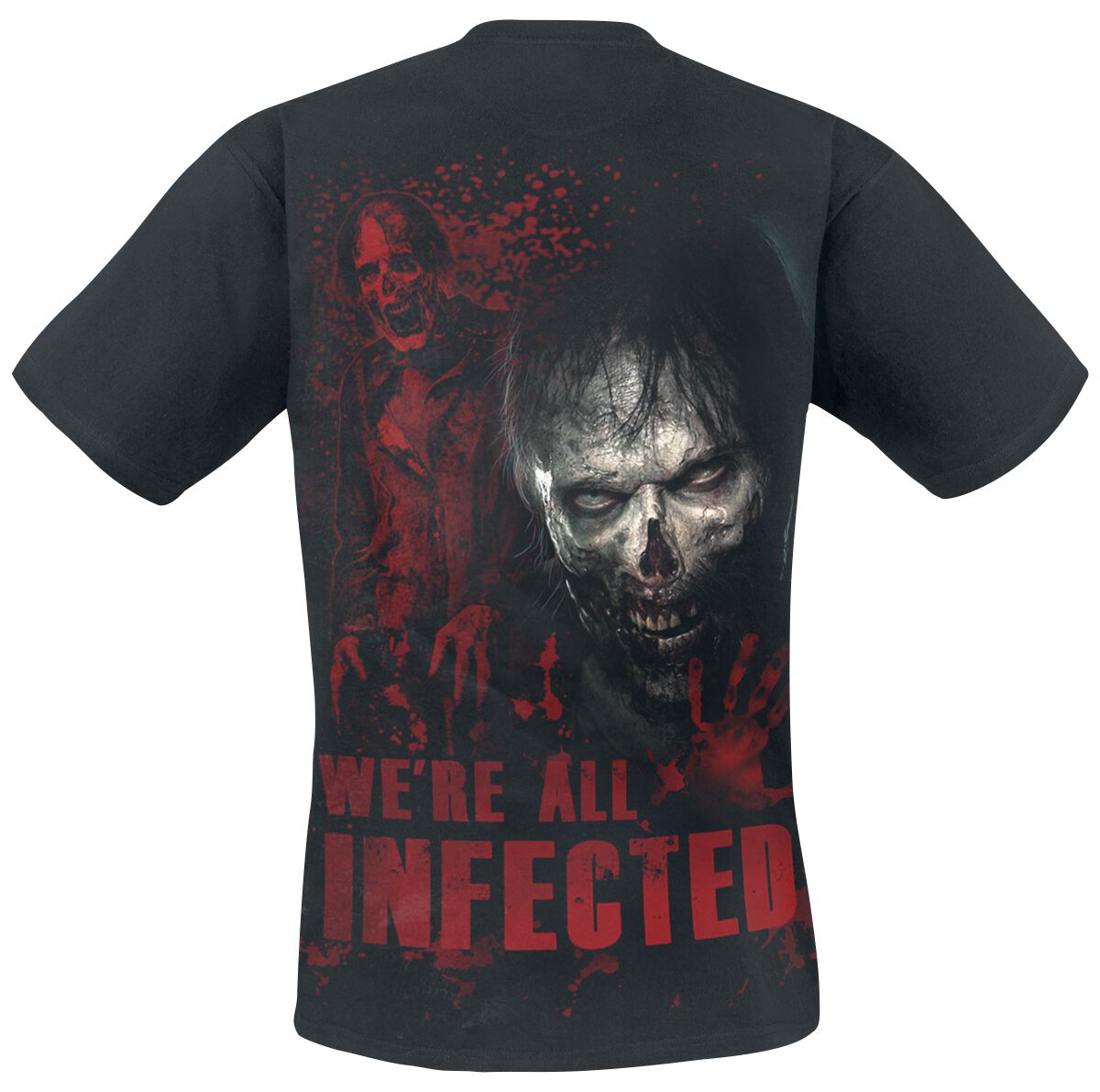 Zombie All Infected The Walking Dead T Shirt Emp
