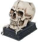 Tears of Time - Skull Tealight Holder