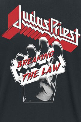 breaking the law judas priest t shirt emp. Black Bedroom Furniture Sets. Home Design Ideas