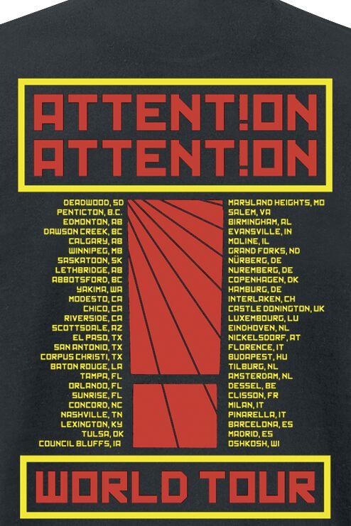 8711d6e2 Boombox Humanity Tour | Shinedown T-Shirt | EMP