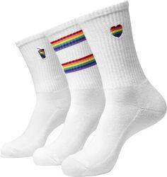 Pride Icons Socks 3-Pack