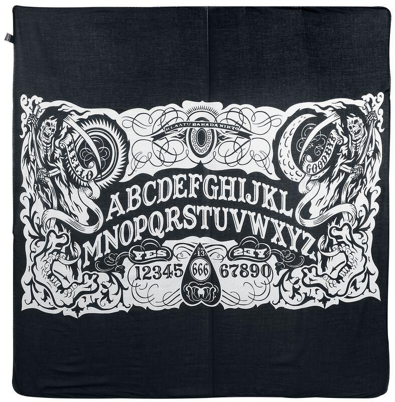 Ocult Ouija Spirit Board Kerchief