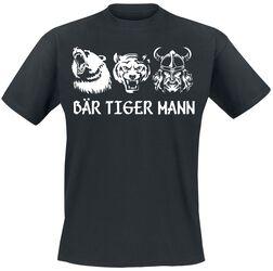 Bär Tiger Mann