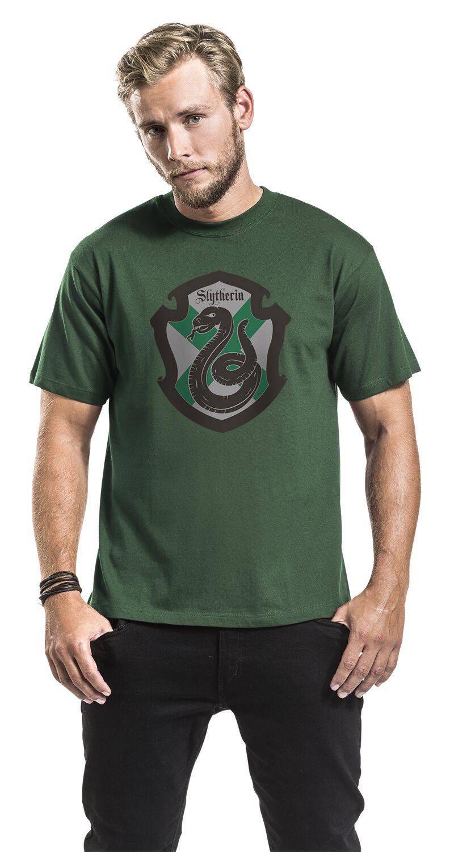 Harry Potter Slytherin Crest Petit Ami De La Femme en Forme T-Shirt/ Merchandise Officiel
