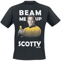 Captain James T Kirk - Beam Me Up Scotty