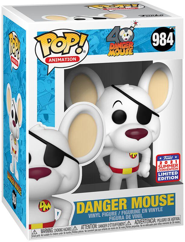 SDCC 2021 - Danger Mouse (Funko Shop Europe) Vinyl Figure 984
