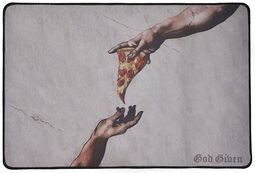 Pizza Art Desk Pad