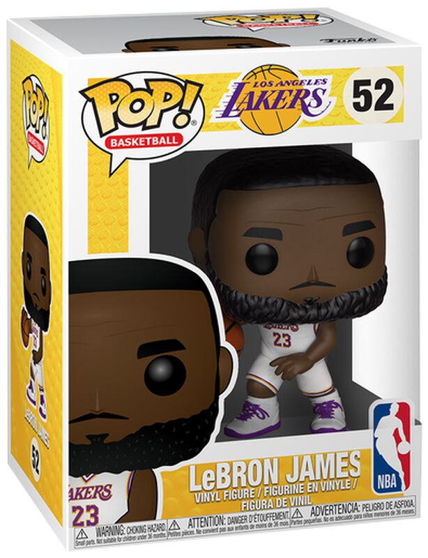 Los Angeles Lakers - LeBron James Vinyl Figure 52
