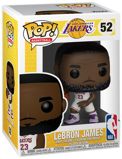 7d1fc1f87a7c Los Angeles Lakers - LeBron James Vinyl Figure 52. Funko Pop! More from NBA
