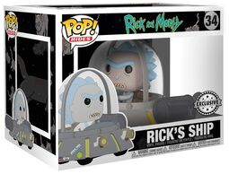 Rick's Ship Vinyl Figure 34