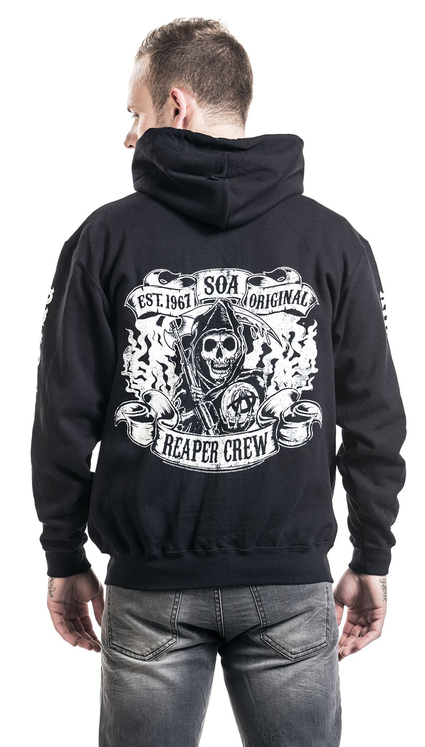 14fc1728b6d Reaper Crew. Hooded zip. 24 Reviews. Sons Of Anarchy