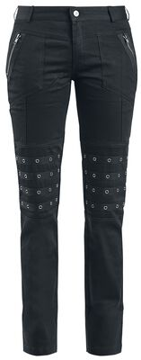 Long Trousers with Studs