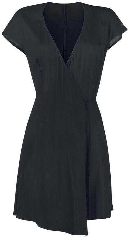 Wrap Dress With Waist Tie