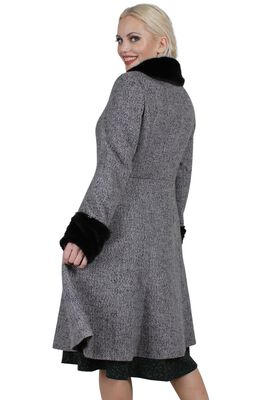 Louisa May Stone Long Dress Coat