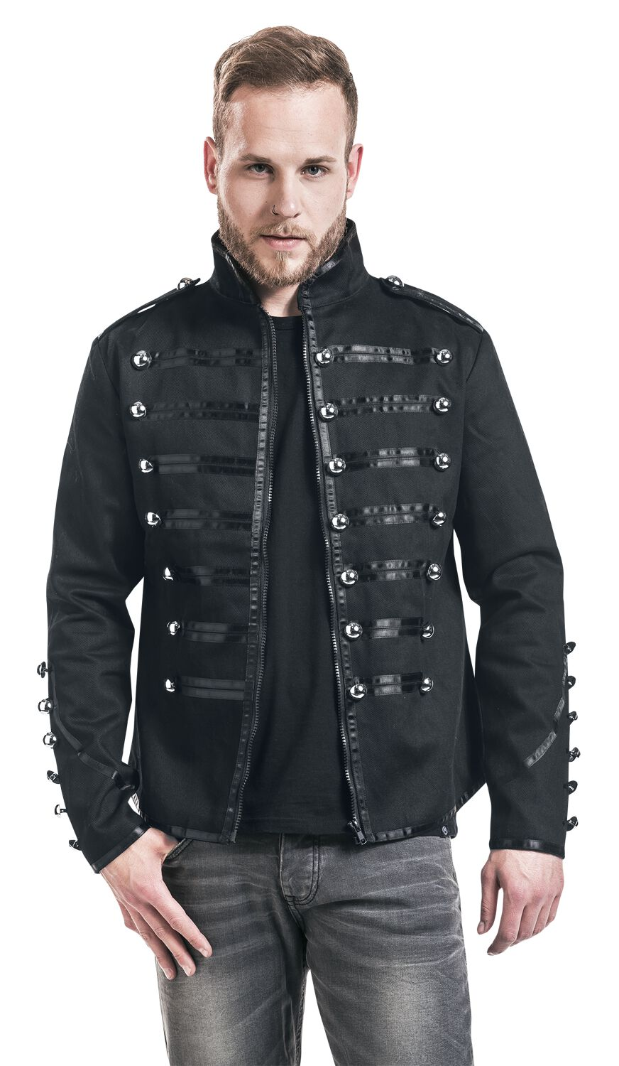 Kersttrui Man Xxl.Military Drummer Banned Uniform Jacket Emp