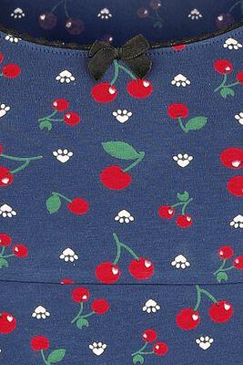 Cat Paws & Cherries Girl Shirt