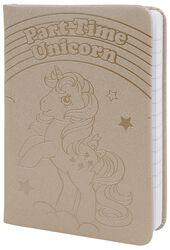 Part Time Unicorn - A6 Pocket Premium Notebook