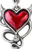 Devil Heart Studs