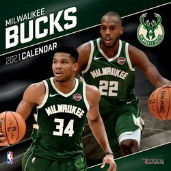 Milwaukee Bucks - Calendar 2021
