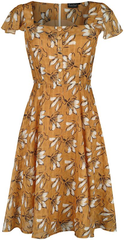 Kaye Floral Sketch Print Dress