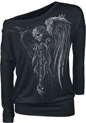 Langarmshirt mit Skull- Print
