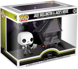 Nightmare Before Christmas Jack Skellington and Jacks House - Vinyl Figure 07