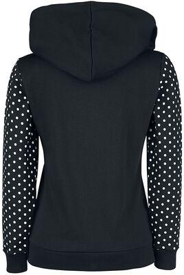 Stay Safe Dotties Mask Hooded Zip-Jacket