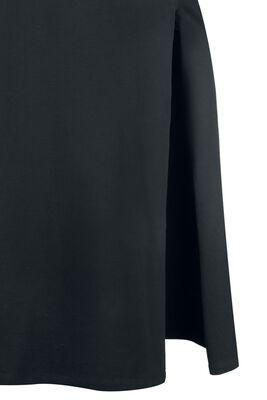 Gothicana Long Dress with Leg Slit