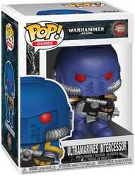 Warhammer 40,000 Ultramarines Intercessor Vinyl Figure 499