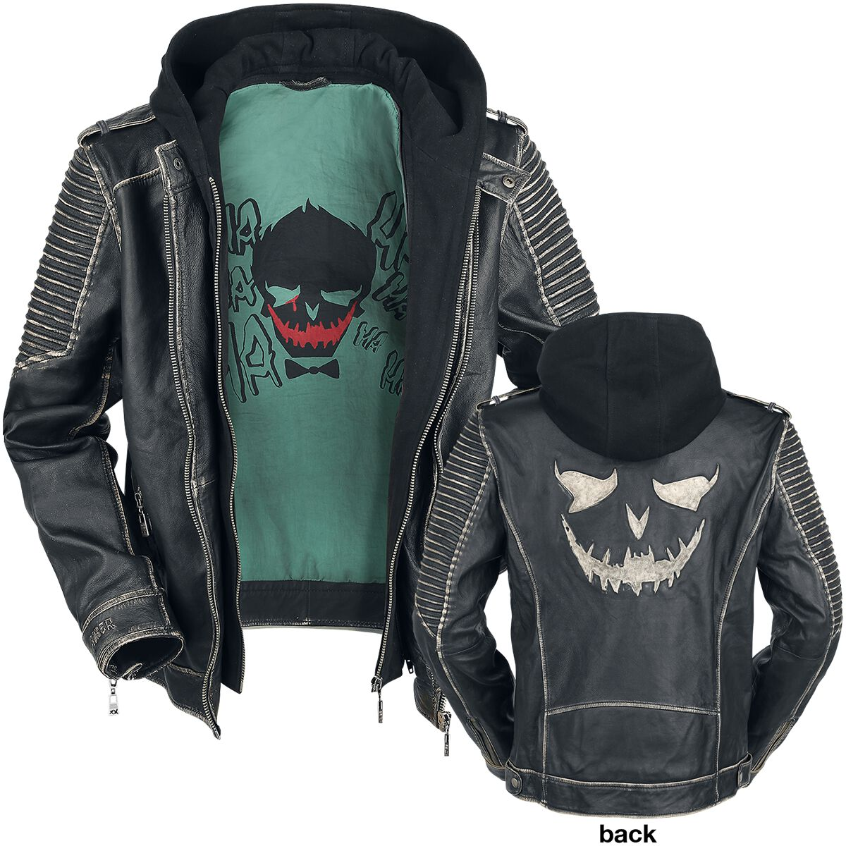 All Sizes Suicide Squad New /'The les jacket/' Joker leather jacket