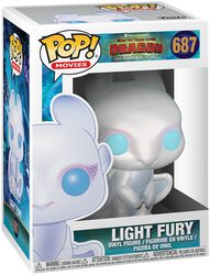 3 - Light Fury Vinyl Figure 687