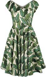 Rainforest 50s Dress