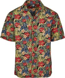 Aloha Pattern Resort Shirt