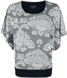 T-shirt with Ornamental Print