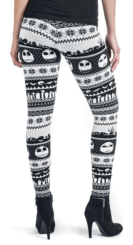 fair isle knit leggings leggings 6 reviews the nightmare before christmas - Nightmare Before Christmas Leggings