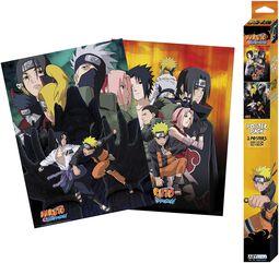 Shippuden - Ninjas - Poster 2-Set Chibi Design