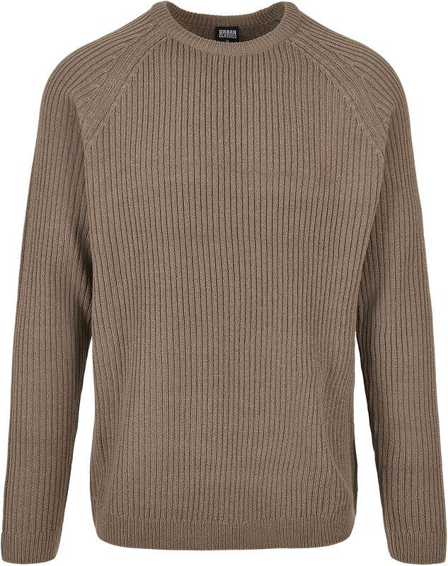 Ribbed Raglan Sweater