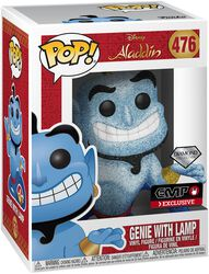 Genie with Lamp (Diamond Collection) (Glitter) Vinyl Figure 476