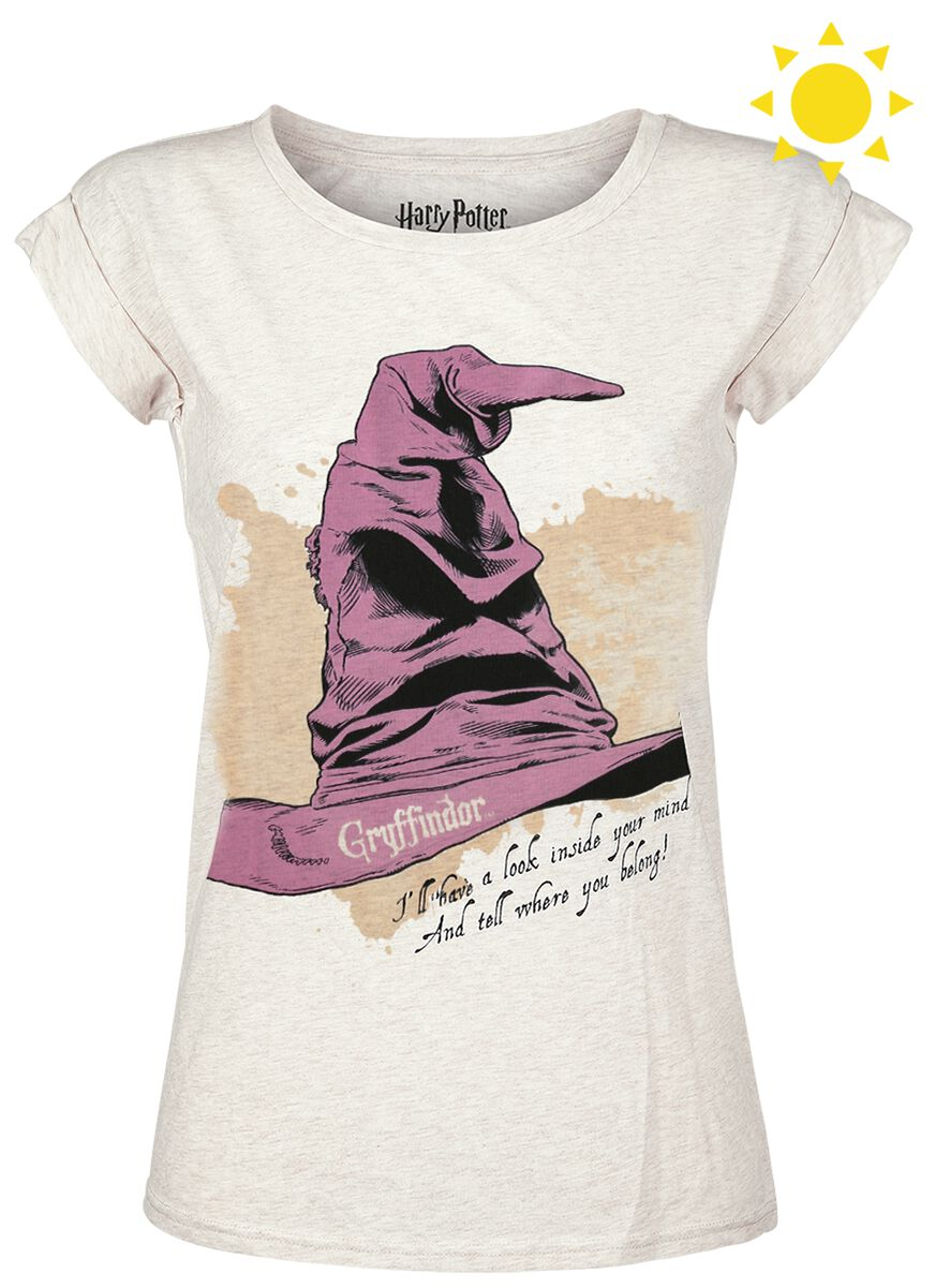 6f4cd50ee6881 The Sorting Hat - Gryffindor UV   Harry Potter T-Shirt   EMP