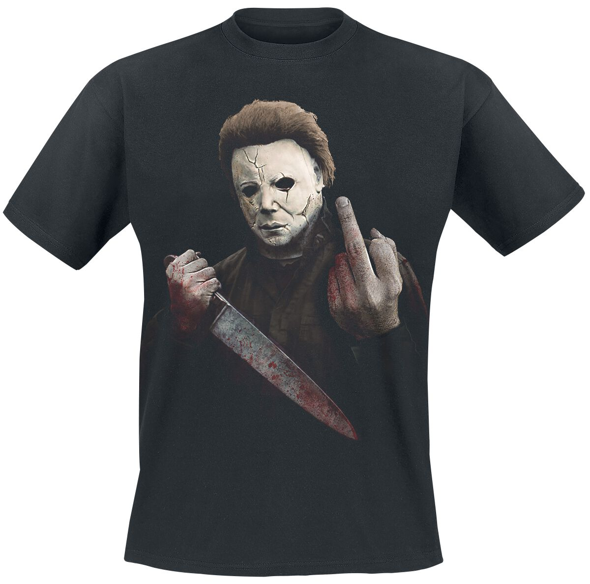 82d03abe Michael Myers - Middle Finger. T-Shirt. 1 Reviews. More from Halloween