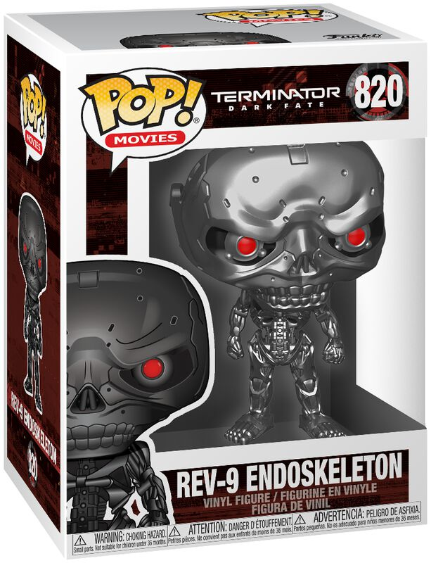 Dark Fate - Rev-9 Endoskeleton Vinyl Figure 820