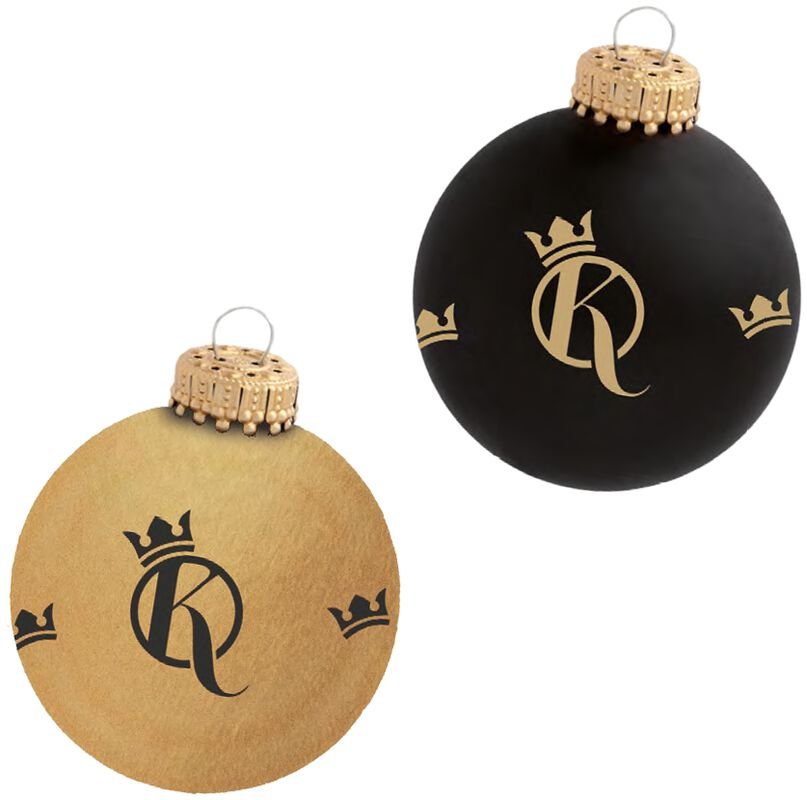 Set of 2 Xmas Baubles