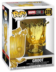 Marvel Studios 10 - Groot (Chrome) Vinyl Figure 378