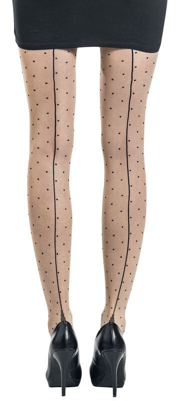 Jive Seamed Dotty Tights