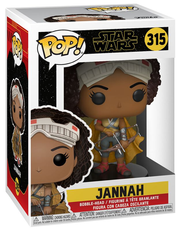 Episode 9 - The Rise of Skywalker - Jannah Vinyl Figure 315