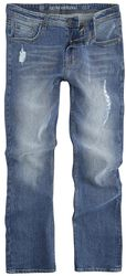 Slim Fit Jeans Destroy Blue