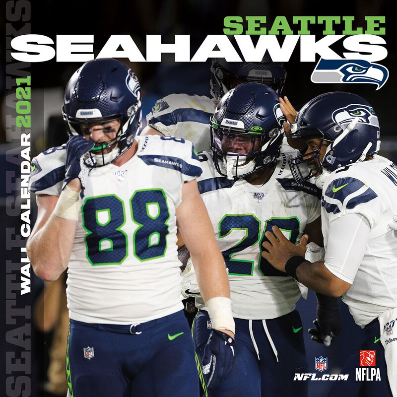 Seattle Seahawks - 2021 Calendar