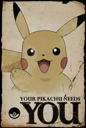 Pikachu needs you