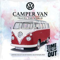 2021 Wall Calendar - Camper Vans