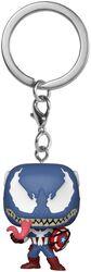 Venomized Captain America Pocket POP! Keychain